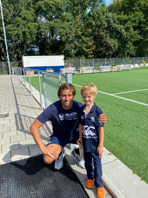 met captain Daan Vierling